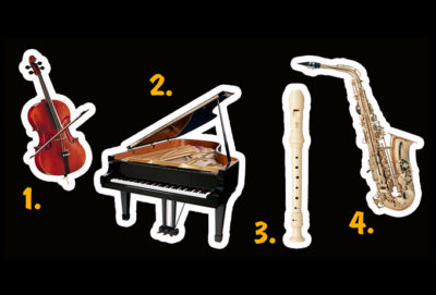 Alegeinstrumentul muzical al cărui sunet îți place cel mai mult și află care este muzica sufletului tău!