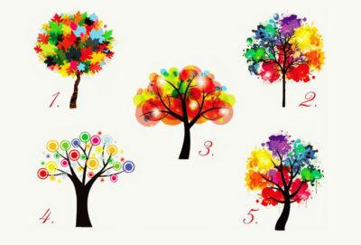 Test: Află detalii interesante despre tine doar alegând un copac!